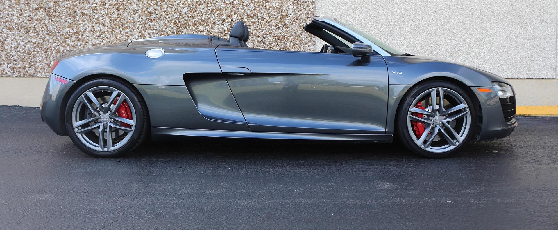 Used 2015 Audi R8 5.2 quattro Carbon Spyder | Miami, FL