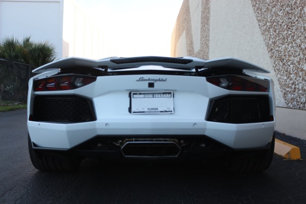 Used 2016 Lamborghini Aventador LP 700-4 Roadster   Miami, FL n29