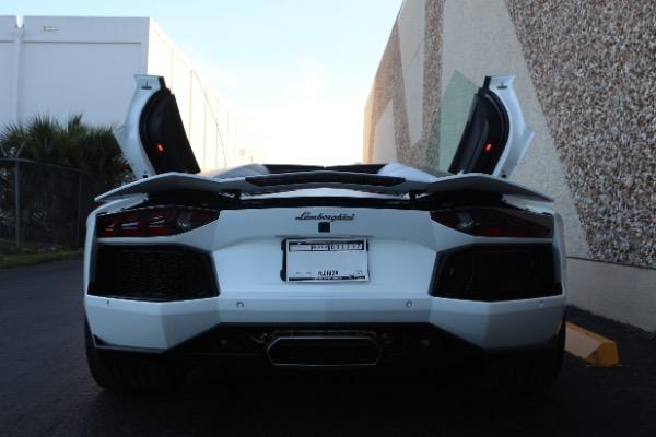 Used 2016 Lamborghini Aventador LP 700-4 Roadster | Miami, FL n31