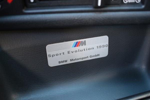 Used 1990 BMW M3 EVO SPORT | Miami, FL n43