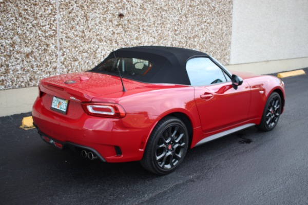 Used 2017 FIAT 124 Spider Abarth | Miami, FL n22