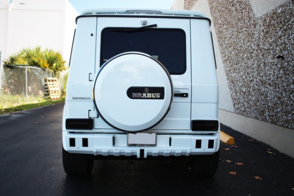 Used 2016 Mercedes-Benz G-Class AMG G 63 BRABUS | Miami, FL n10