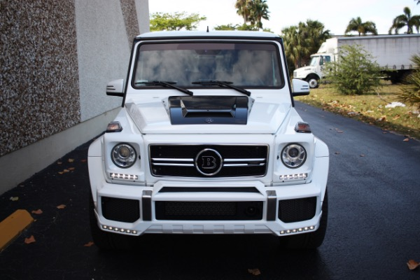 Used 2016 Mercedes-Benz G-Class AMG G 63 BRABUS | Miami, FL n3