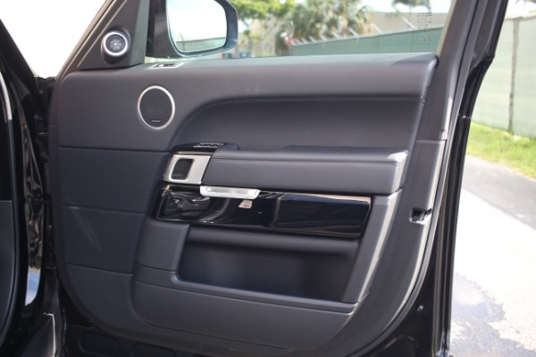 Used 2014 Land Rover Range Rover Supercharged Ebony Edition | Miami, FL n15