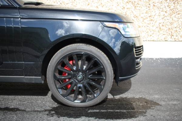 Used 2014 Land Rover Range Rover Supercharged Ebony Edition | Miami, FL n17