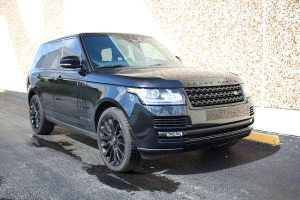 Used 2014 Land Rover Range Rover Supercharged Ebony Edition | Miami, FL n18