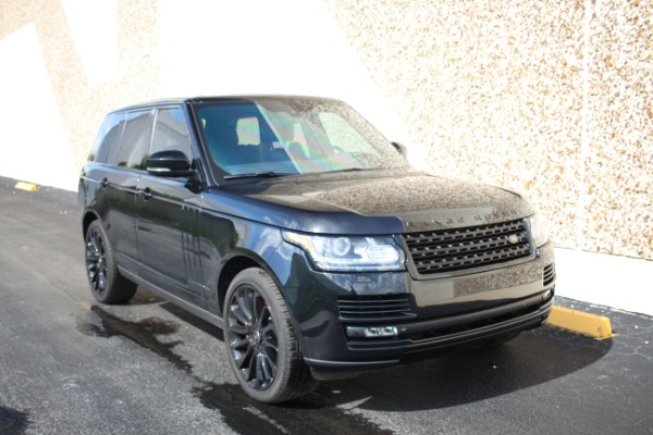 Used 2014 Land Rover Range Rover Supercharged Ebony Edition | Miami, FL n19