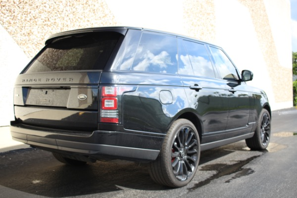 Used 2014 Land Rover Range Rover Supercharged Ebony Edition | Miami, FL n20