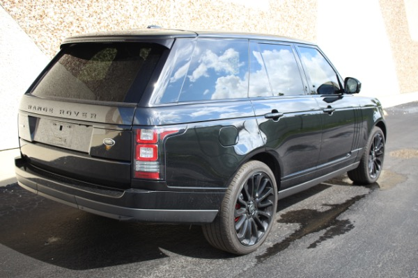 Used 2014 Land Rover Range Rover Supercharged Ebony Edition | Miami, FL n21