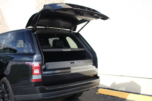 Used 2014 Land Rover Range Rover Supercharged Ebony Edition | Miami, FL n23