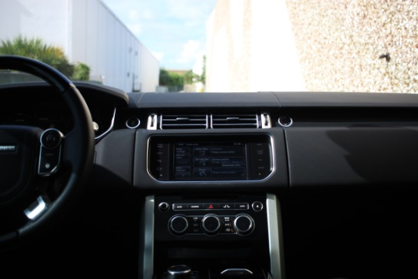 Used 2014 Land Rover Range Rover Supercharged Ebony Edition | Miami, FL n27