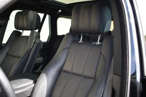 Used 2014 Land Rover Range Rover Supercharged Ebony Edition | Miami, FL n37