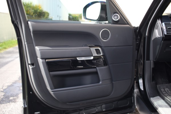 Used 2014 Land Rover Range Rover Supercharged Ebony Edition | Miami, FL n39