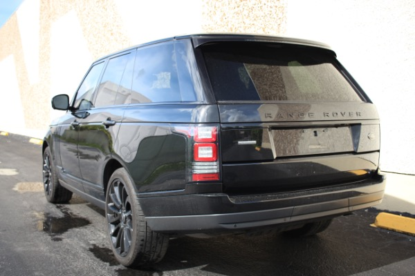 Used 2014 Land Rover Range Rover Supercharged Ebony Edition | Miami, FL n41