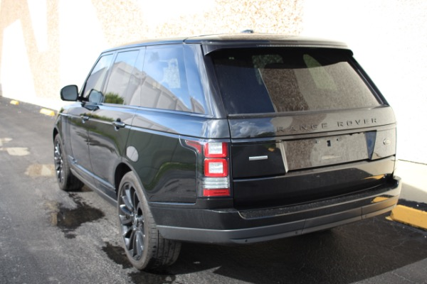 Used 2014 Land Rover Range Rover Supercharged Ebony Edition | Miami, FL n42
