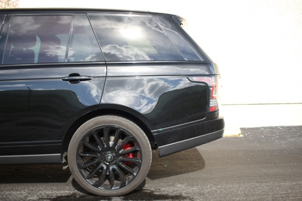 Used 2014 Land Rover Range Rover Supercharged Ebony Edition | Miami, FL n44