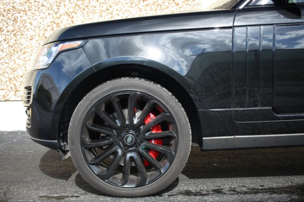 Used 2014 Land Rover Range Rover Supercharged Ebony Edition | Miami, FL n46
