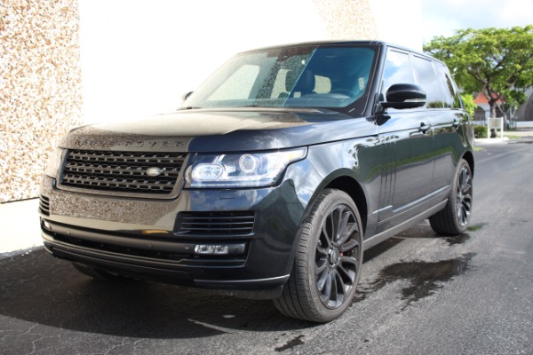 Used 2014 Land Rover Range Rover Supercharged Ebony Edition | Miami, FL n47