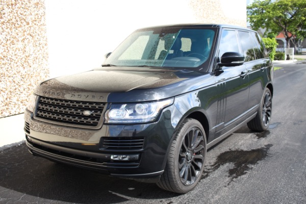 Used 2014 Land Rover Range Rover Supercharged Ebony Edition | Miami, FL n48