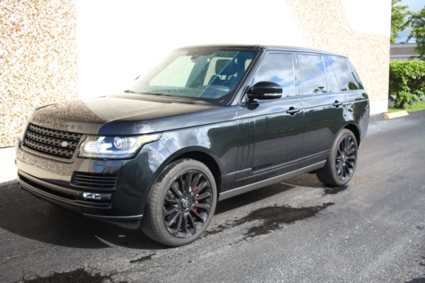 Used 2014 Land Rover Range Rover Supercharged Ebony Edition | Miami, FL n50