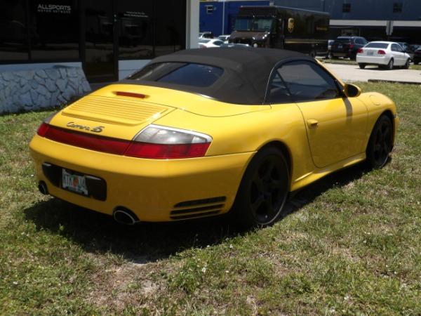 Used 2004 Porsche 911 Carrera 4S Cabriolet | Miami, FL n10