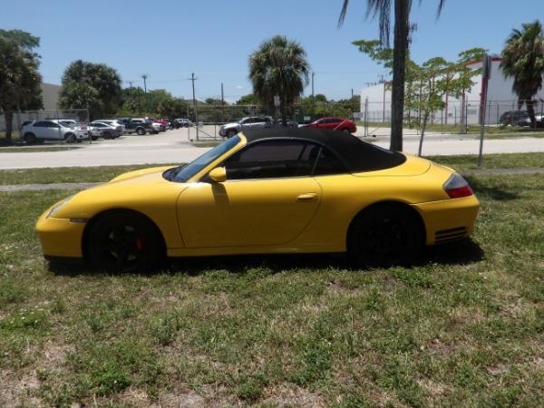 Used 2004 Porsche 911 Carrera 4S Cabriolet | Miami, FL n12