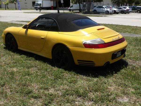 Used 2004 Porsche 911 Carrera 4S Cabriolet | Miami, FL n14