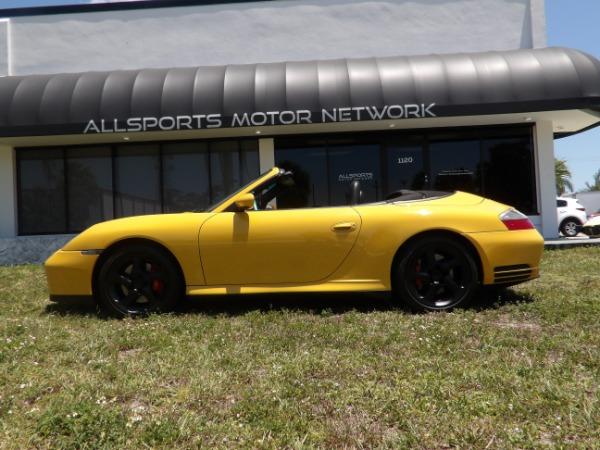Used 2004 Porsche 911 Carrera 4S Cabriolet | Miami, FL n16