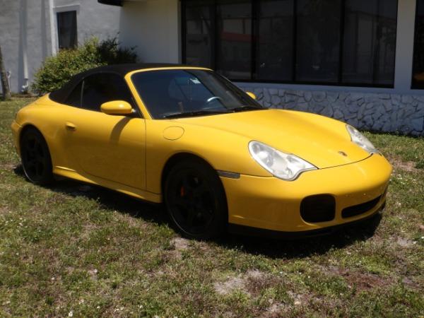 Used 2004 Porsche 911 Carrera 4S Cabriolet | Miami, FL n2
