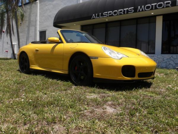 Used 2004 Porsche 911 Carrera 4S Cabriolet | Miami, FL n21