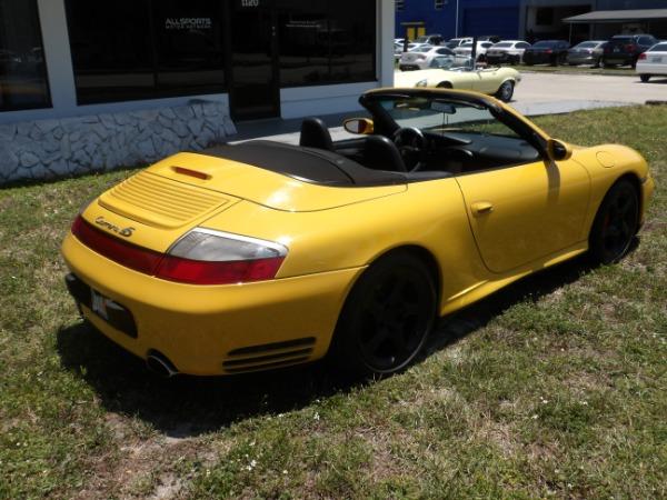 Used 2004 Porsche 911 Carrera 4S Cabriolet | Miami, FL n25
