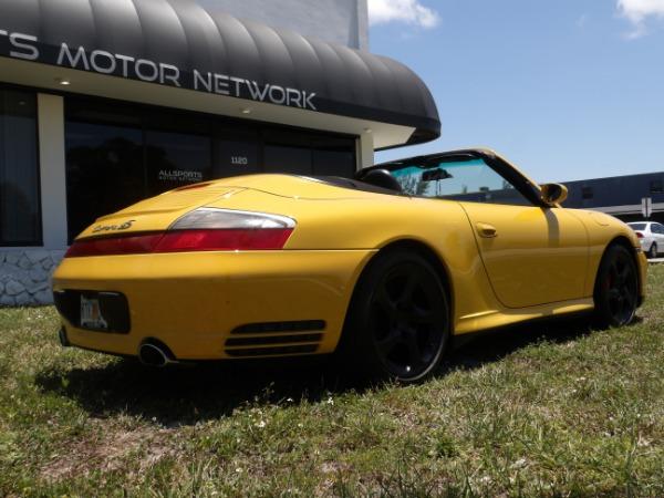 Used 2004 Porsche 911 Carrera 4S Cabriolet | Miami, FL n26
