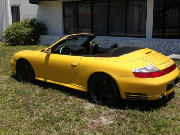 Used 2004 Porsche 911 Carrera 4S Cabriolet | Miami, FL n27