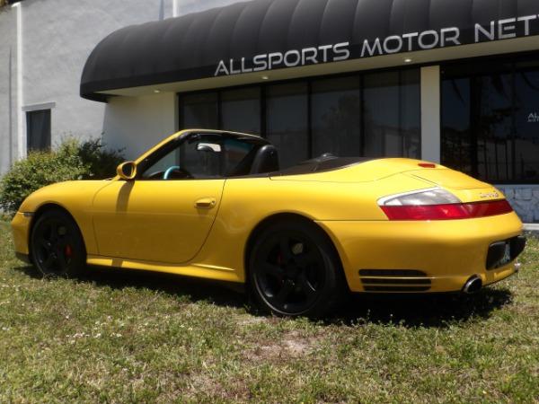 Used 2004 Porsche 911 Carrera 4S Cabriolet | Miami, FL n28