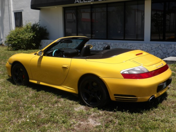 Used 2004 Porsche 911 Carrera 4S Cabriolet | Miami, FL n29