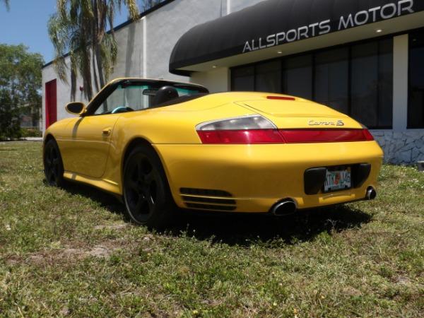 Used 2004 Porsche 911 Carrera 4S Cabriolet | Miami, FL n31