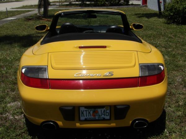 Used 2004 Porsche 911 Carrera 4S Cabriolet | Miami, FL n33