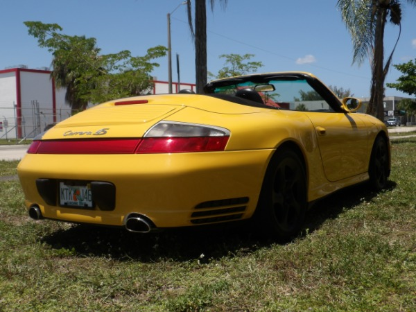 Used 2004 Porsche 911 Carrera 4S Cabriolet | Miami, FL n36