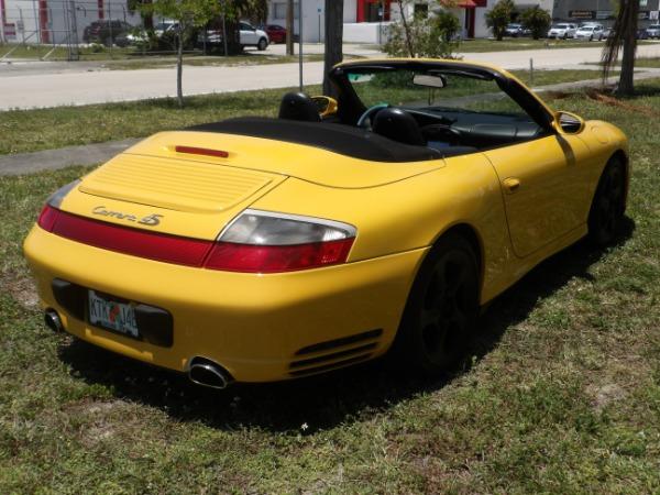Used 2004 Porsche 911 Carrera 4S Cabriolet | Miami, FL n37