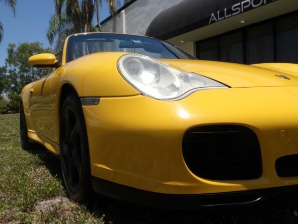 Used 2004 Porsche 911 Carrera 4S Cabriolet | Miami, FL n38