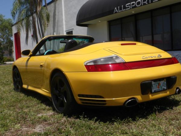 Used 2004 Porsche 911 Carrera 4S Cabriolet | Miami, FL n56