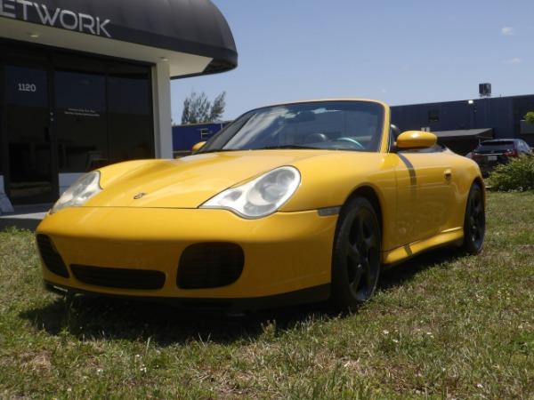 Used 2004 Porsche 911 Carrera 4S Cabriolet | Miami, FL n57