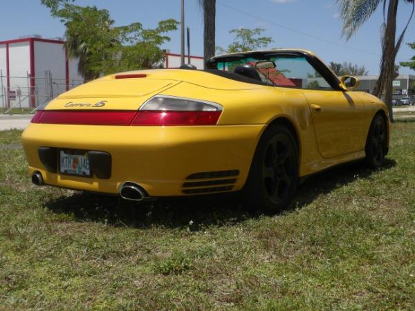 Used 2004 Porsche 911 Carrera 4S Cabriolet | Miami, FL n58