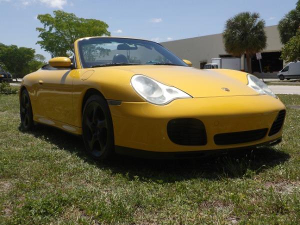 Used 2004 Porsche 911 Carrera 4S Cabriolet | Miami, FL n63