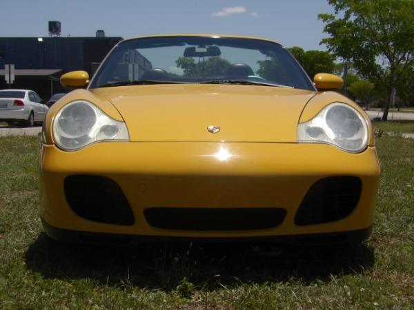 Used 2004 Porsche 911 Carrera 4S Cabriolet | Miami, FL n64