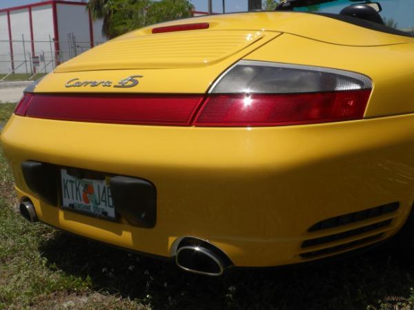 Used 2004 Porsche 911 Carrera 4S Cabriolet | Miami, FL n70