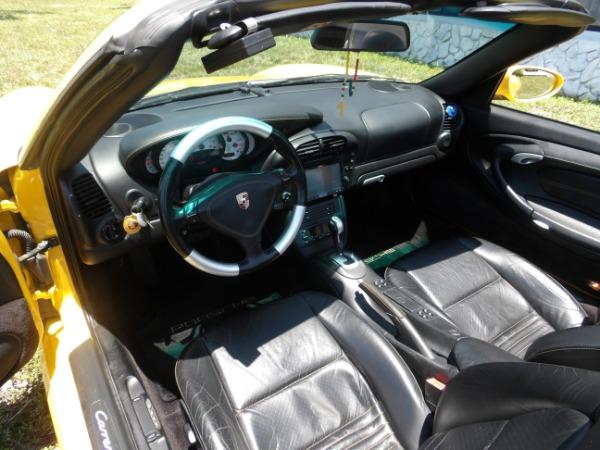 Used 2004 Porsche 911 Carrera 4S Cabriolet | Miami, FL n76