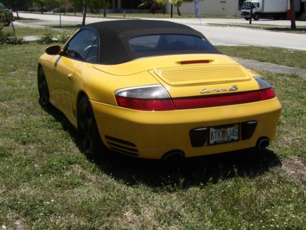 Used 2004 Porsche 911 Carrera 4S Cabriolet | Miami, FL n8