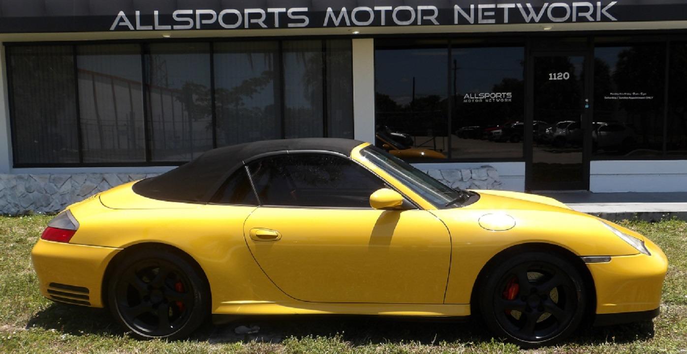 Used 2004 Porsche 911 Carrera 4S Cabriolet | Miami, FL