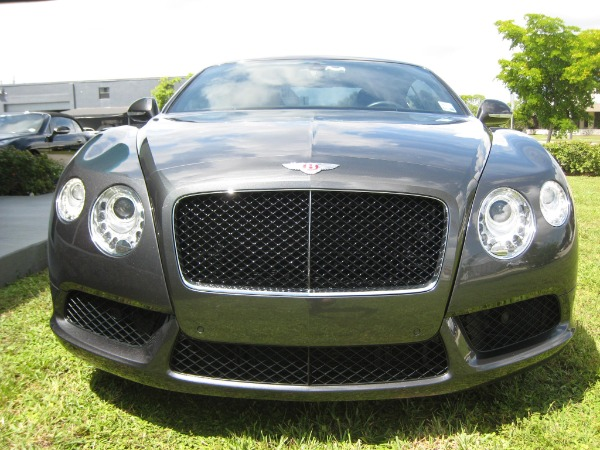 Used 2013 Bentley Continental GT V8 Mulliner Edit. | Miami, FL n34